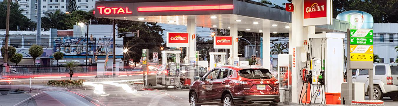 Estacion de combustible Total