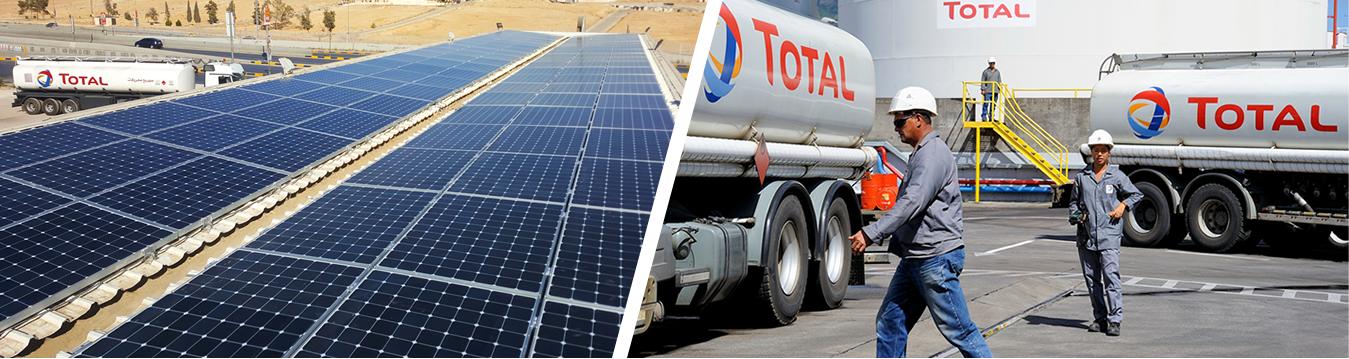 Actividad empresarial, paneles solares y logística.